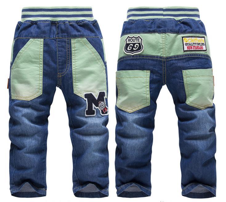 佛山地区专业制造儿童中小童牛仔裤批发