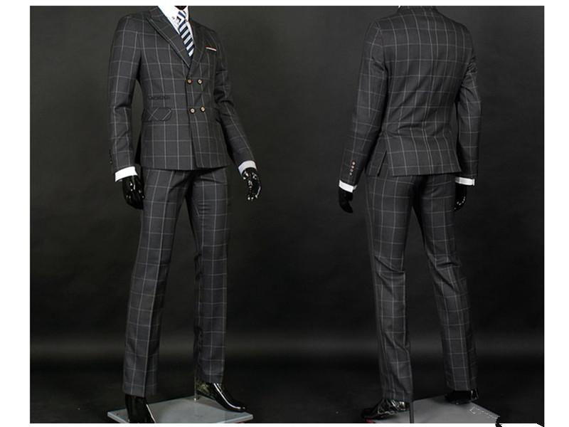 个性韩版修身西服套装供应