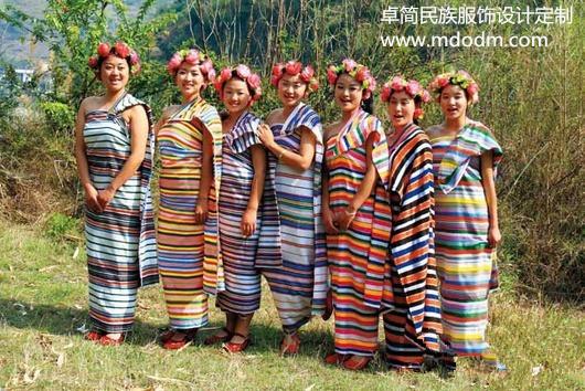 杭州哪里有供应超低价的独龙族服饰——少数民族演出服饰