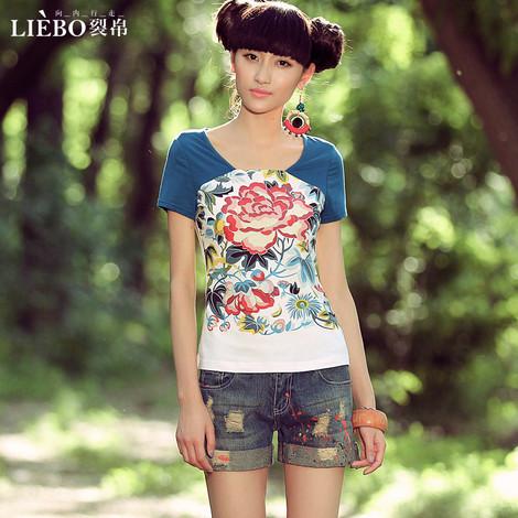 深圳品牌库存服装一万件女装T恤尾货特价批发