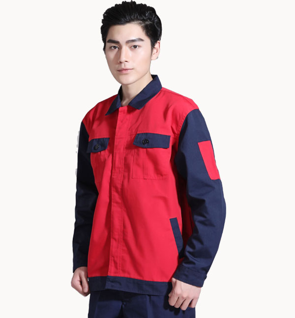 亿诚制服YCGC-013春秋新款长袖套装工作服定做