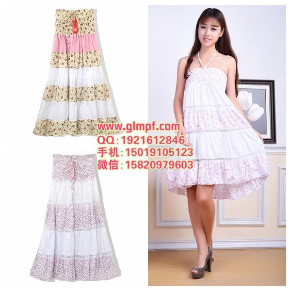 时尚女装连衣裙服装货源厂家直销