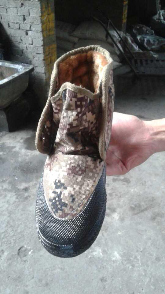 焦作便宜的沙漠绒棉供应——棉鞋低价批发