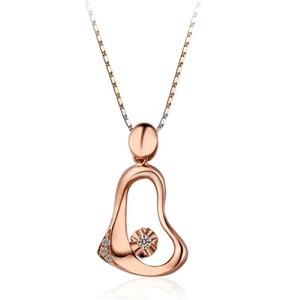 钻石吊坠价位——在广州怎样才能买到销量最好的18K黄金钻石吊坠