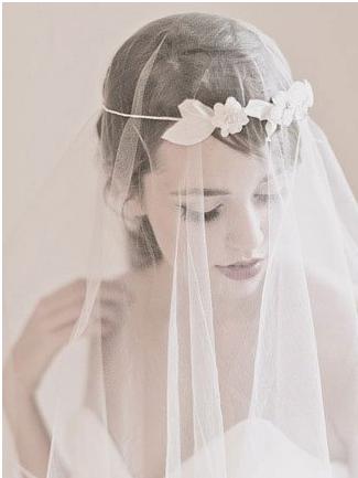 郑州蓝蓝嫁衣定做各式新娘头纱