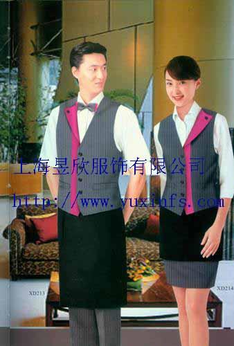 定做酒店服务员服装厂家上海酒店服订做价格