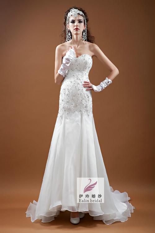 婚纱礼服定做批发
