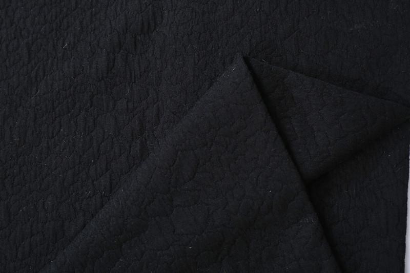 浙江韩版女装提花面料F05420布纺批发