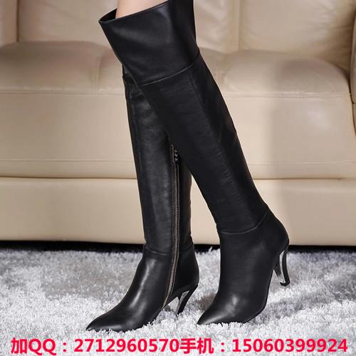 海西鞋业时髦的2015百丽过膝长靴供应