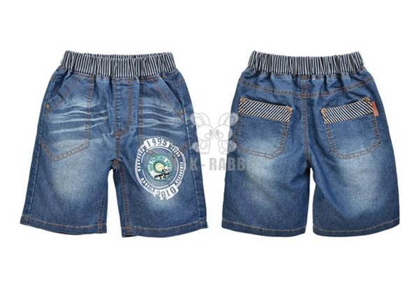佛山新式的儿童牛仔短裤批发