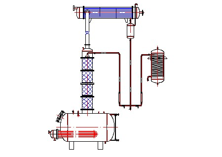 复合精馏塔预订 复合精馏塔零售