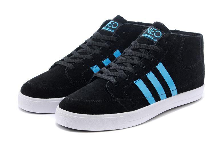 名品鞋业供应最超值的阿迪达斯男高帮运动休闲板鞋,重庆高仿鞋批发