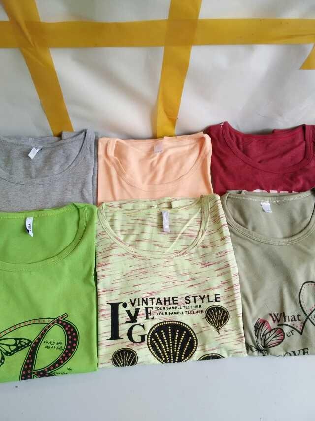 夏装T恤批发最便宜的女装批发价格低至3.8元起