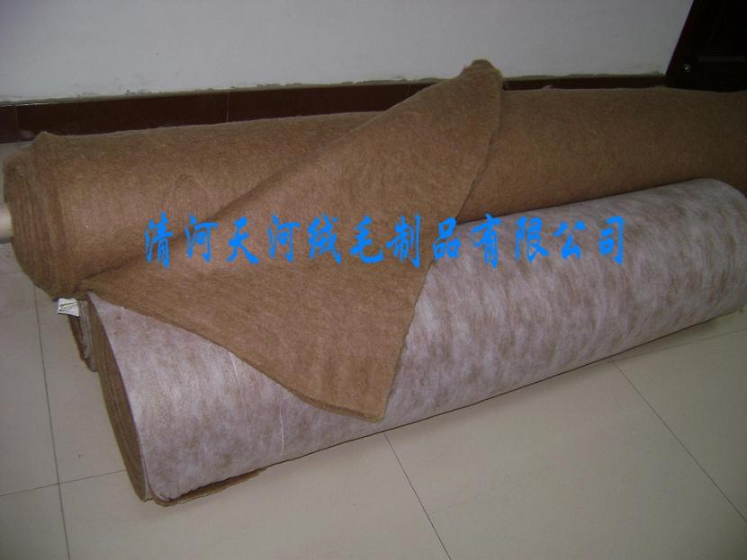 最优的厂家直销驼绒絮片——具有价值的驼绒絮片供应商当属天河绒毛制品公司