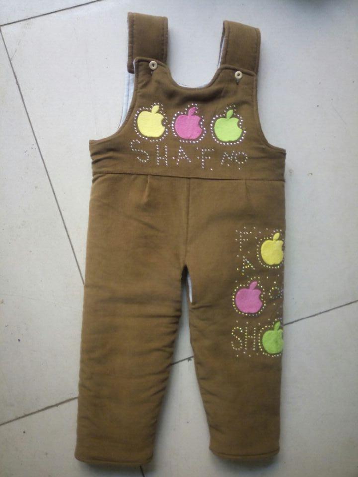 个性儿童背带裤 采购款式新的儿童背带裤首选洪河屯乡尚朵制衣