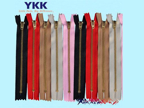 杭州优秀的YKK金属拉链哪里买 :衣服金属拉链