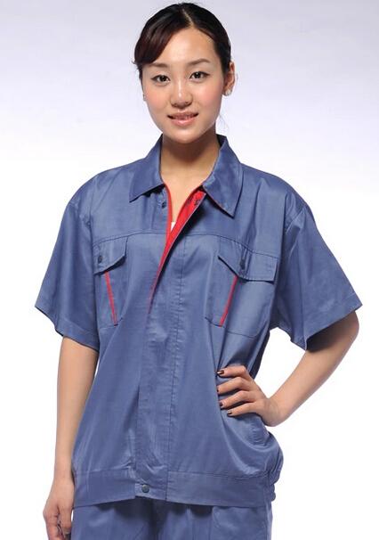成都夏季工装定制 短袖工装定制 工装价格 庞哲服饰