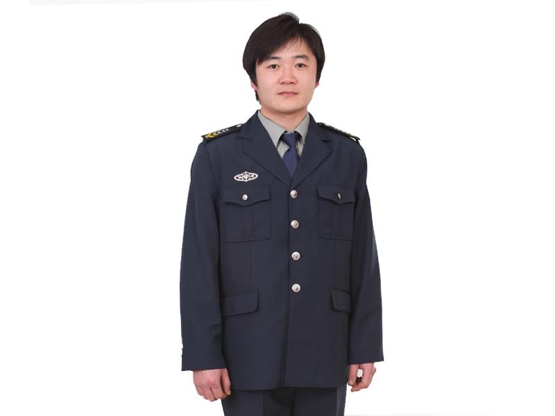 标志服装便宜 高品质的保安服供应