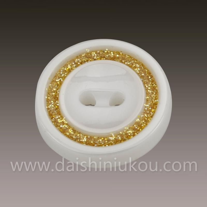 白色圆形黛石陶瓷纽扣衬衣西装批发纽扣