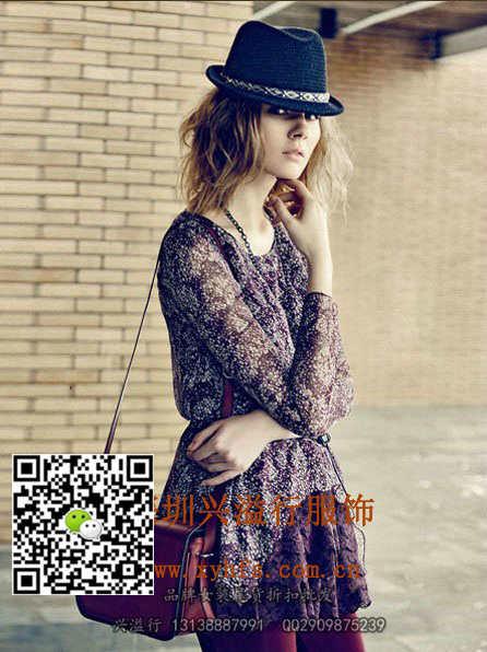 深圳兴溢行供应一三国际女装另有宝莱得利库存 女装尾货批发