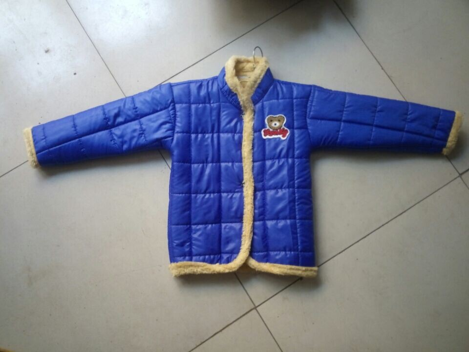 儿童棉衣哪个公司好,推荐洪河屯乡尚朵制衣,儿童棉衣专卖