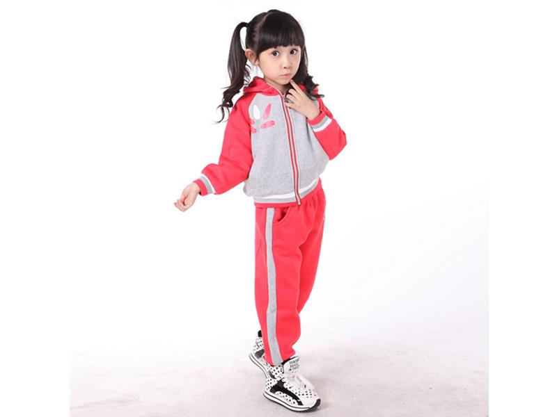 宁波2014休闲运动服:信誉好的儿童秋冬运动套装厂家批发