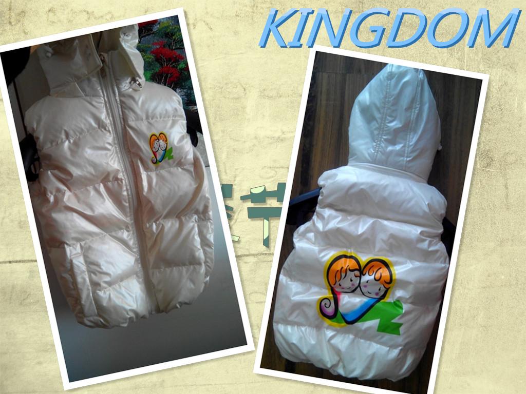 吉米罗恩供应最好的儿童羽绒服马甲,羽绒马甲定制价格