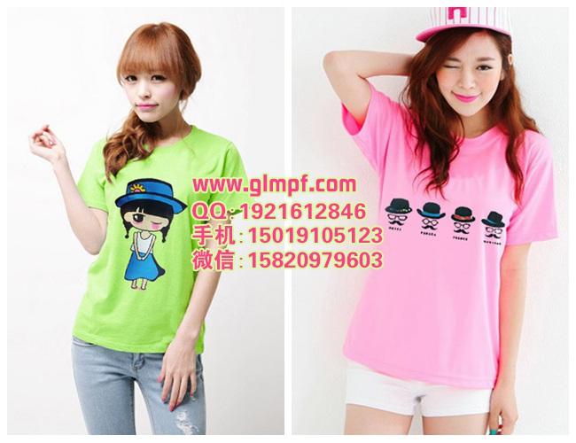 夏天卖什么T恤好T恤批发市场韩版T恤货源网哪里批发T恤最好