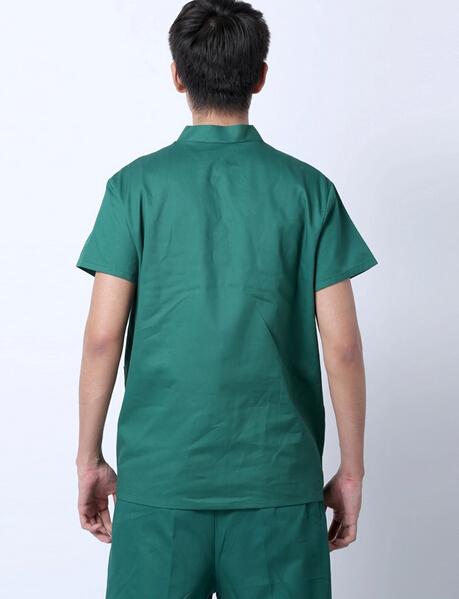 2015庞哲手术服批发 短袖手术服批发 绿色手术服批发