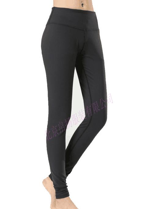 工厂直销 高弹锦氨面料 户外健身运动裤 男式速干紧身长裤