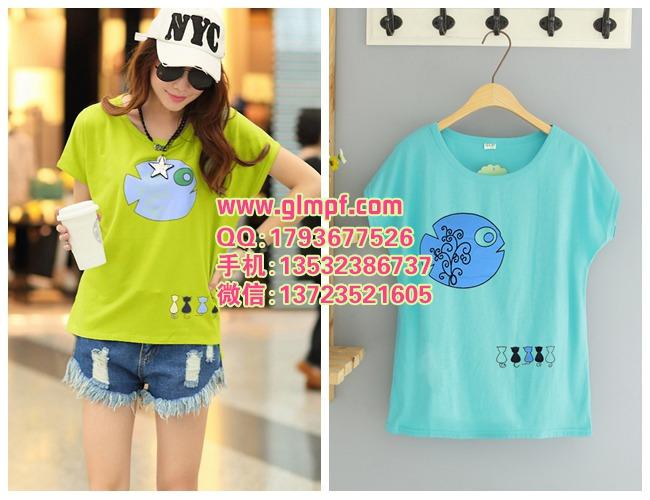 韩版女装货源夏季新款低价便宜现货批发几元棉T恤批发