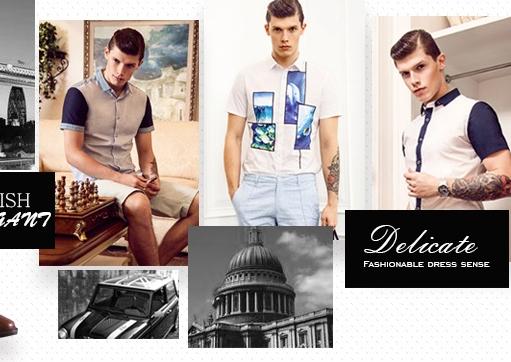 服装行业最具口碑的男装品牌,时尚莎斯莱思