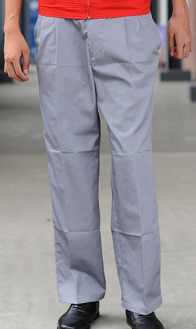 庞哲工作裤定制 灰色工装工作裤 优质工作裤 工作裤加工厂