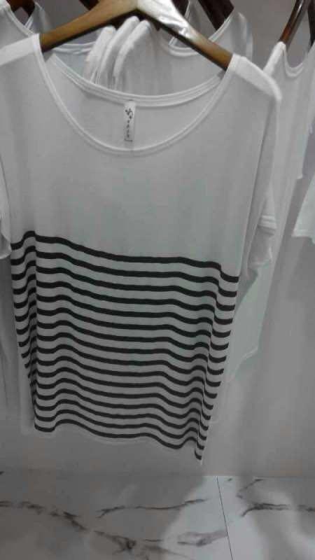 工厂处理女装丝光棉短袖T恤批发