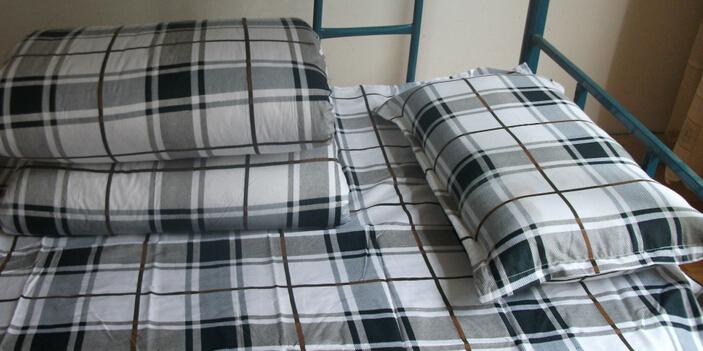 河北学生床上用品批发价格  临沂专业的学生床上用品订做厂家
