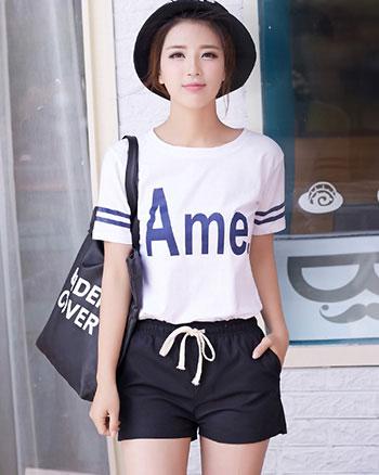 厂家直销服装批发市场牛仔短裤批发时尚韩版衣服批发
