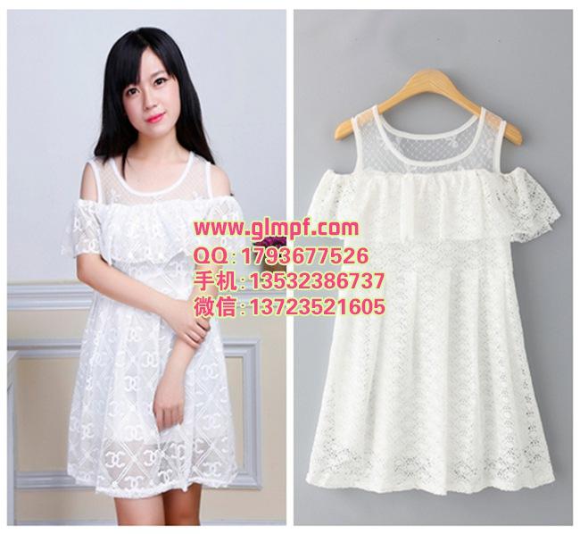新款便宜夏季韩版女装货源供货雪纺蕾丝衫低价十几元质量保证服装批发市场