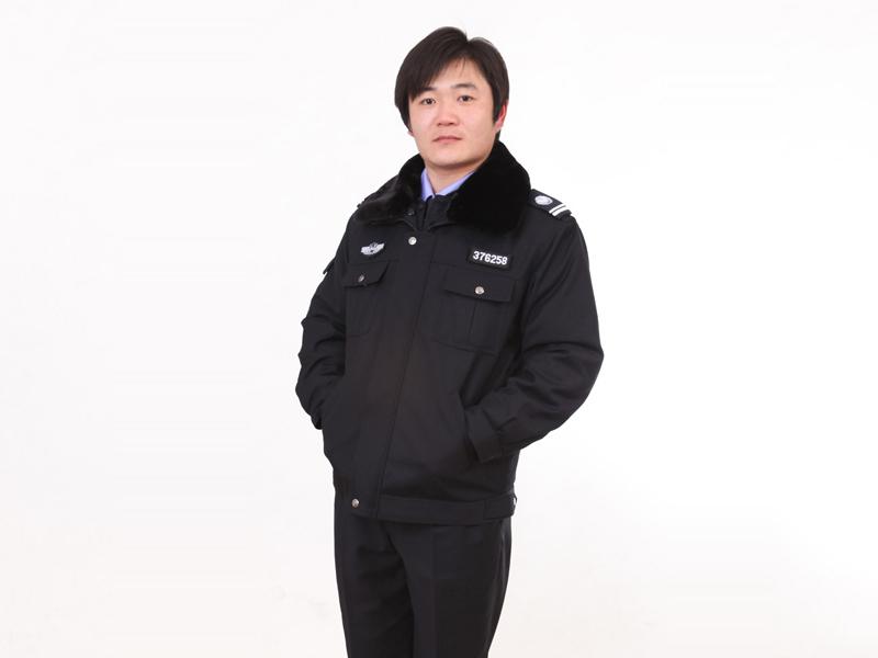 山东保安服价格:俏皮的冬执勤服推荐