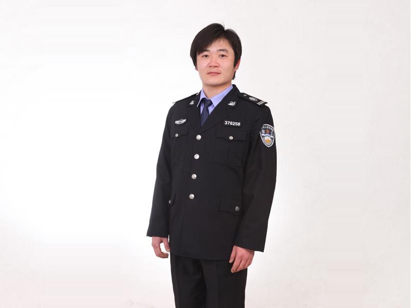 昌乐保安服厂家:怎样购买质量好的保安春秋常服