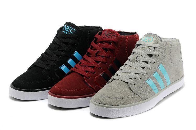 冬季adidas|在莆田怎么买优惠的阿迪达斯高帮保暖休闲板鞋