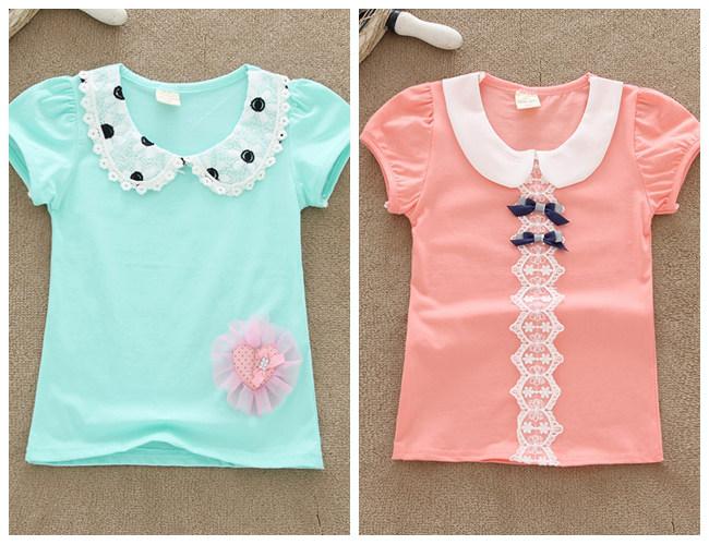 织里童装批发市场夏季小孩短袖T恤衫货源童装圆领纯棉T恤批发湖