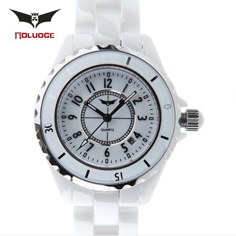 白色女士手表代理,推荐美东商贸公司:济南市女韩国时尚手表