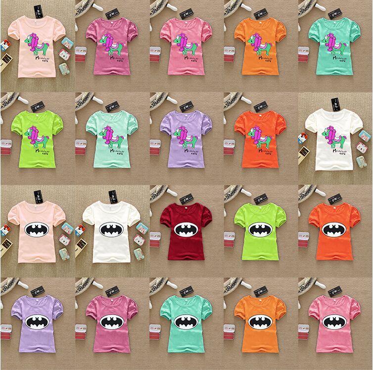 儿童服装批发市场短袖T恤套装批发便宜童装批发市场