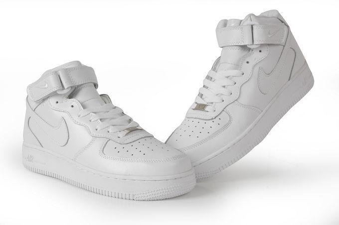 中帮高帮休闲鞋|最优质的精仿耐克FORCR空军一号板鞋低高帮要到哪儿买