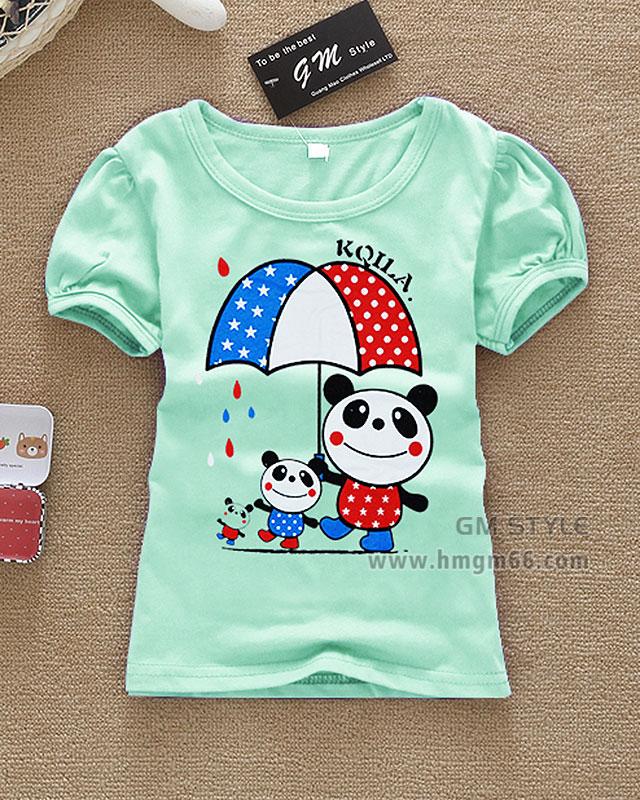 夏季儿童服装批发成都厂家T恤批发厂家便宜夏季服装批发