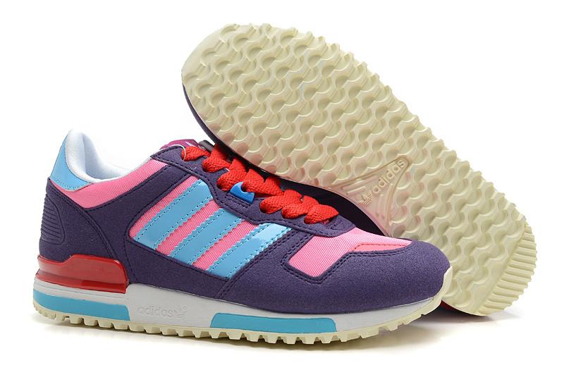 莆田各类样式阿迪达斯运动鞋批发出售 ZX700三叶草休闲