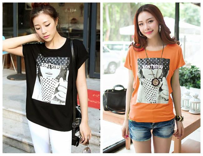 便宜时尚夏装女装短袖T恤批发厂家直批低价韩版女T恤批发