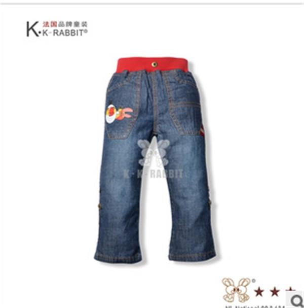 法国童裤批发,供应佛山便宜的儿童牛仔长裤