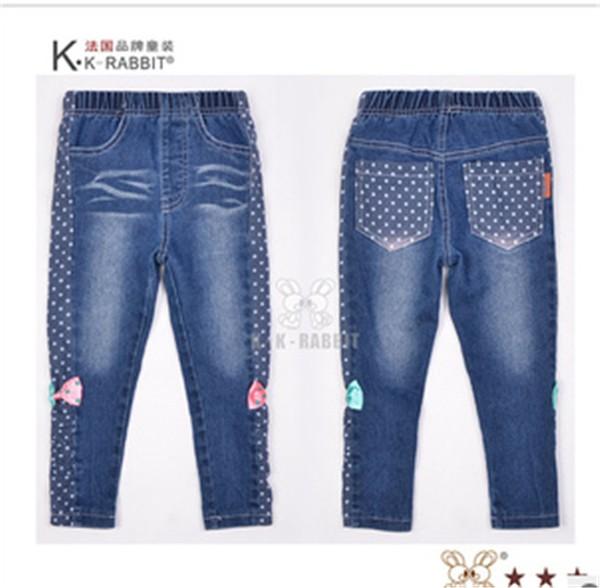 法国童裤批发女童牛仔长裤_由大众推荐,质量好的女童牛仔长裤