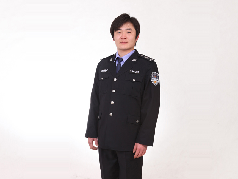 优质保安服_在潍坊怎么买品牌好的保安春秋常服
